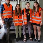 """Das Team """"Prävention Pfadi Aargau"""" löste heute unseren Escape Room. Vielen Dank für euren Besuch! :-)"""