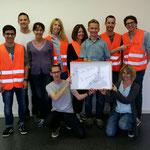 """Gestern waren die Teams """"Raiba Escapers"""" und """"Filous"""" bei uns zum Firmenausflug. Vielen Dank für euren Besuch, es war cool mit euch! :-)"""