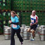 507: Nadine Blum gefolgt von der 524: Uwe Winkler