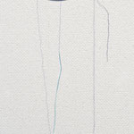 title : repaire-部屋の片隅 material:皿の欠片、糸、 size : 10×4×1cm