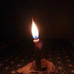 麻炭和蝋燭