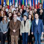 Besuch von Studenten der Universtität Marburg am 10. Dezember.