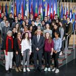Besuch der Heinrich-Böll-Schule aus Hattersheim am 25. Oktober.