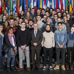 Besuch des Starkenburg Gymnasiums aus Heppenheim am 6. Februar.