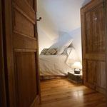 Gîte la mare au coq chambre 1er étage ☞ Les chambres au 1er étage sont séparées par un palier