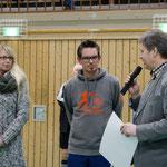 Bernd Kruse vom Förderkreis für krebskranke Kinder Kiel bedankt sich