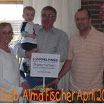 Spende 60. Geburtstag Alma Fischer