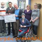 Spendenübergabe Uni-Klinik Kiel 2013
