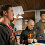 Auktionsleiter Mirko Nitschmann und seine Helfer in Aktion