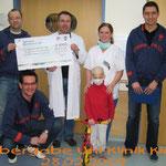 Spendenübergabe Uni-Klinik Kiel 2009