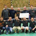 Der Lions Club Nortorf, vertreten durch Ingo Hagen und Otto Thun, trug mit seiner Spende maßgeblich zum tollen Ergebnis bei.