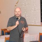 """Ehrenamtlich für die Musik bei der """"After-Cup Party"""" zuständig: DJ René Ströh ..."""