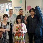 お疲れ様でした♪ 生徒さんからお花をいただきました。ありがとうございます!!