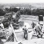 """17 cm Geschütz der 2./M.A.A. 260 """"Yorck"""" I"""