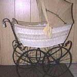Kinderwagen Frankreich, Korb, ca. 1910, verkauft für Sfr. 1800.-