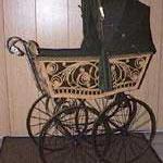 Kinderwagen, ca. 1900, für Sfr. 2000.- verkauft