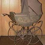 Kinderwagen Frankreich, ca. 1910, grau, Preis Sfr. 1900.-