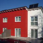 Projekt: Neubau schlüsselfertig – Doppelhaus
