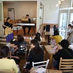 20101111 baby&mamaのためのモーニングコンサート (@自由が丘)
