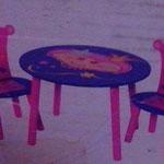 Retro-Kindersitzgruppe, gebraucht, guter Zustand, Leihgebühr 15€ monatlich, für Events VB, Selbstabholung, Kaution 30€, vor Ort bezahlen