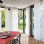 Paneele für Eckfenster auf Maß