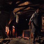 Cuiseurs dans la nuit .