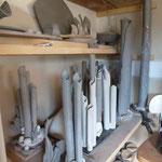 Intérieur atelier Bouquet de Flammes- Armoire de séchage -