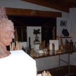 Salle d'expo à Capmal - Bouquet de Flammes -