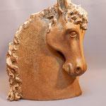 """Sculpture Juan José Ruiz Artiste/Auteur Sculpteur céramiste dit """"Caco"""" grès cuisson four à bois Noborigama de """"Caco et Sylvie"""""""