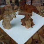 Sculptures grès cuisson four à bois Noborigama- Caco -