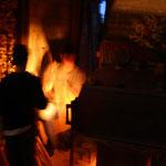 """Une cuisson dans le Noborigama de """"Caco et Sylvie"""" à """"Bouquet de Flammes"""""""