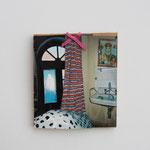 Hotel Athen / div. Materialien u. Techniken / 14 x 16 cm 2006