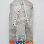Ohne Titel / div. Techniken u. Materialien / ca. 17 x 32 cm 2013