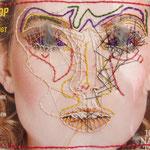 Annabelle / Stickerei / 17 x 17 cm 2016 (verkauft)