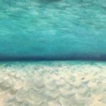 Strandnähe / Öl auf Leinwand 70 x 100 cm 2019 (verkauft)