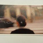 Valencia 1 / Stickerei auf Postkarte / 9 x 14 cm 2014