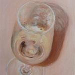 Vino bianco / Öl auf Leinwand 30 x 40 cm 2015 (verkauft)