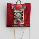 Dollarkissen / div. Techniken u. Materialien / ca. 10 x 10 cm 2008
