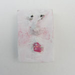 Serie Front Row / Kleister, Acrylfarbe / ca. 4 x 5.5 cm 2014