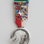 Medaille / div. Materialien u. Techniken / ca. 4 x 11 cm 2006