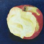 Apfel / Öl auf Leinwand / 50 x 60 cm 2017