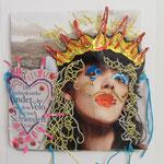 Annabelle / Stickerei / 17 x 17 2015 (verkauft)