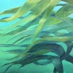 Kelp / Öl auf Leinwand 80 x 100 cm 2020 (verkauft)