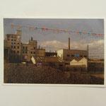 Valencia 2 / Stickerei auf Postkarte / 9 x 14 cm 2014