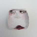 Serie Front Row / Kleister, Acrylfarbe / ca. 5 x 5 cm 2014
