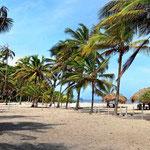Der Strand von Casa Grande.