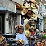 Ein Hutverkäufer.