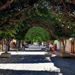 Und nochmal die Hauptstraße. Im Vergleich zu den anderen Bajastädten ist Loreta richtig hübsch.