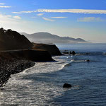 """Eine wunderbare Küste, leider mit nur weniger Stränden zum """"Abspazieren""""."""