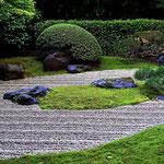 Ein Zen-Garten